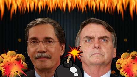 Merval Pereira versus Jair Bolsonaro: a simpatia virou artilharia pesada em textos de jornal e na TV