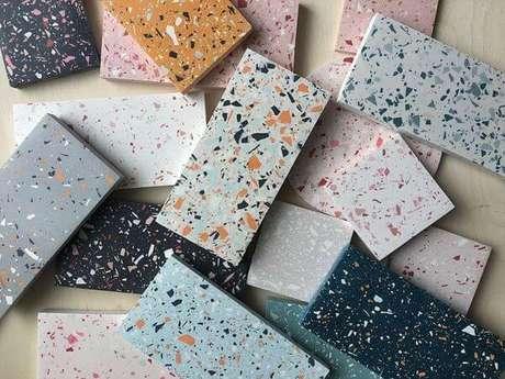 3. Granilite colorido para decorar sua casa – Via: Fast Forward Design