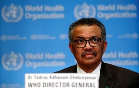 Tedros Adhanom Ghebreyesus, diretor-geral da OMS  28/02/2020 REUTERS/Denis Balibouse