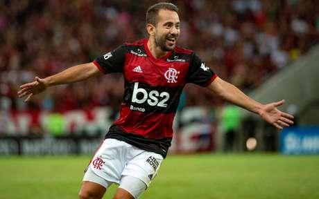 Convocado por Tite, Everton Ribeiro vive grande fase pelo Flamengo (Foto:  Alexandre Vidal / Flamengo)