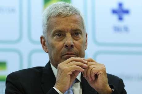 Secretário-executivo do Ministério da Saúde, João Gabbardo Reis, fala sobre o avanço do novo coronavírus no Brasil