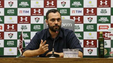 Mário Bittencourt, presidente do Fluminense, se mostrou preocupado com os prejuízos causados pela paralização do futebol aos clubes brasileiros (Foto: Divulgação/Lucas Merçon)