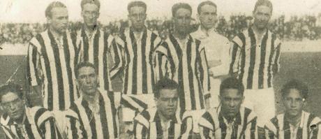 Time do Santos do Campeonato Paulista de 1918 (Foto: Divulgação/Santos)