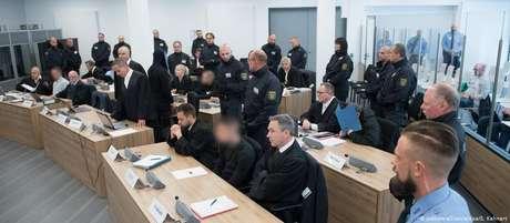Julgamento dos membros do Revolution Chemnitz, em Dresden