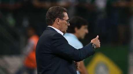Luxemburgo tem 69% de aproveitamento em 14 jogos nesta passagem pelo Verdão (Cesar Greco/Agência Palmeiras)