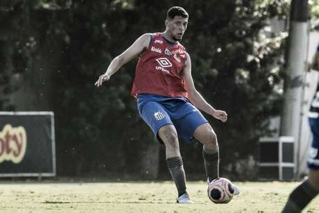 Alex subiu recentemente à equipe profissional do Santos (Foto:Ivan Storti/Santos)