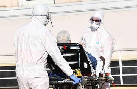 No total, 15 pessoas serão transferidas para hospitais da Alemanha e Áustria