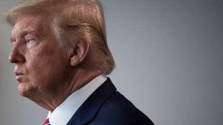 """Donald Trump: el presidente de EE.UU. dijo que el país """"no fue construido para estar cerrado""""."""