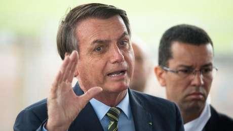 Em conversa com a imprensa na manhã desta quarta, Bolsonaro repetiu retórica