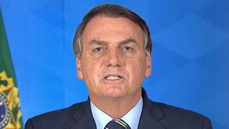 Em pronunciamento em rede nacional, Bolsonaro criticou o confinamento por seus efeitos econômicos