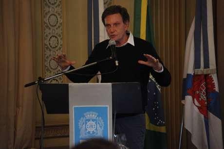 Marcelo Crivella, prefeito do Rio de Janeiro