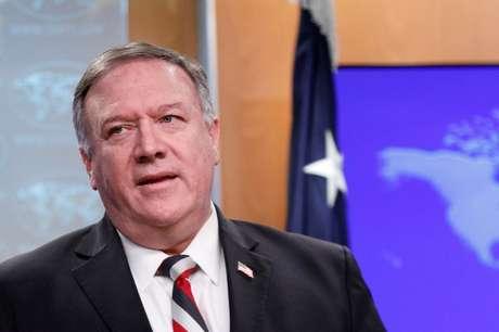 Secretário de Estado dos EUA, Mike Pompeo 17/03/2020 REUTERS/Tom Brenner