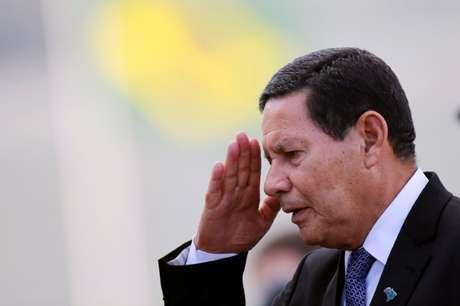 Vice-presidente Hamilton Mourão 03/07/2019 REUTERS/Adriano Machado