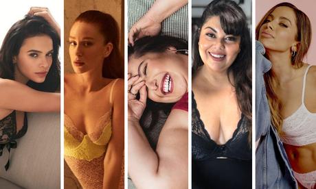 Famosas de lingerie (Fotos: Reprodução/Instagram)