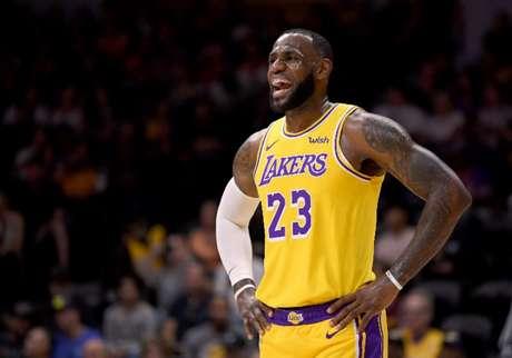 Astro do Lakers publicou foto sem autorização (Foto: AFP)
