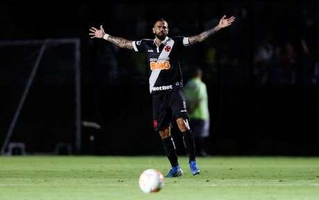 Leandro Castan durante partida do Vasco (Foto: Rafael Ribeiro/Vasco)