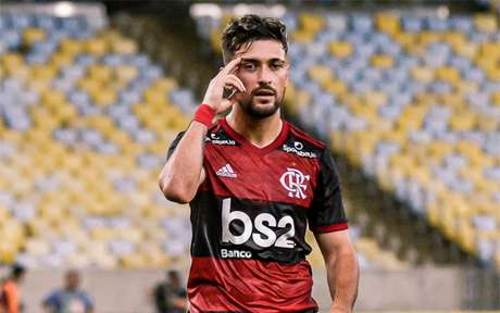 Arrascaeta tem dois passes para gol (Foto: Marcelo Cortes / Flamengo)