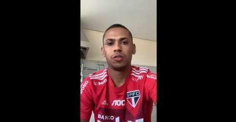 Bruno Alves gravou vídeo com recado sobre o novo coronavírus - FOTO: Reprodução