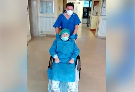 Gianna, uma italiana de 86 anos, conseguiu ser curada da Covid-19 na Lombardia