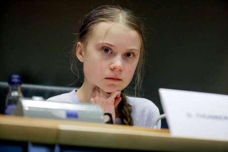 Greta Thunberg disse que sentiu cansaço, dor de garganta e tosse