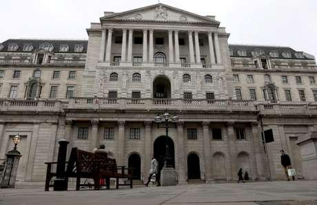 Banco da Inglaterra em Londres 19/3/2020 REUTERS/Simon Dawson