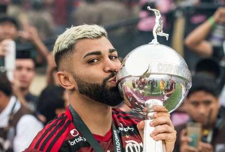 Gabigol brilhou e decidiu a final da Libertadores de 2019 (Foto: Alexandre Vidal / Flamengo)