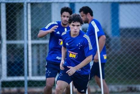 Dodô briga na Justiça para reativar o contrato com o Cruzeiro-(Bruno Haddad/Cruzeiro)