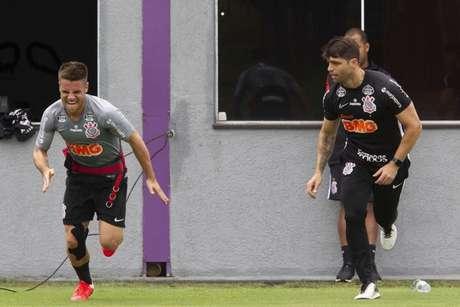 Ramiro é um dos favoritos ao posto de titular do Corinthians quando as competições retornarem (Daniel Augusto Jr./ Agência Corinthians)