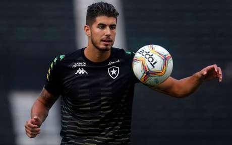 Pedro Raul jogou pouco, mas se tornou jogador importante para o Botafogo de 2020 (Foto: Vítor Silva/Botafogo)