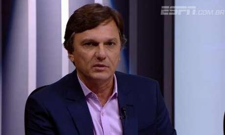 Mauro Cezar Pereira recomendou auxílio financeiro a clubes em dificuldades (Foto: Reprodução/ESPN)