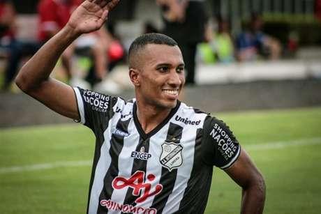 Emprestado pelo Santos, Lucas Braga é o destaque da Inter de Limeira no Paulistão-2020 (Foto: Divulgação)