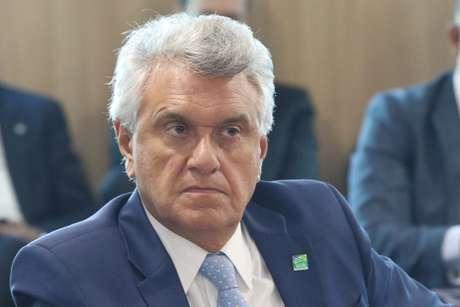 Ronaldo Caiado (DEM), durante o Fórum Nacional do Governadores em Brasília (DF)