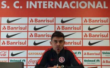 Ídolo do Internacional, meia atuou pelo Colorado por quase 10 anos (Foto: Divulgação / Inter)