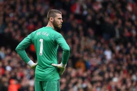 De Gea já tem quase 400 jogos com a camisa do Manchester United (Foto: AFP)