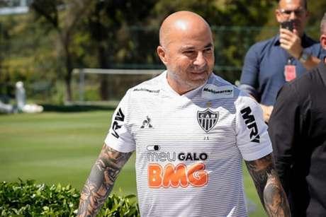 Sampaoli foi duramente criticado por Neto na TV- (Bruno Cantini/Atlético-MG(