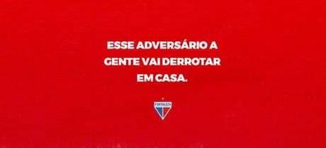 Clube mostra preocupação com o lado psicológico dos jogadores (Foto: Divulgação/Fortaleza)