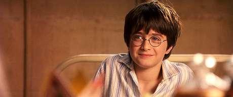 Daniel Radcliffe em 'Harry Potter e a Pedra Filosofal'