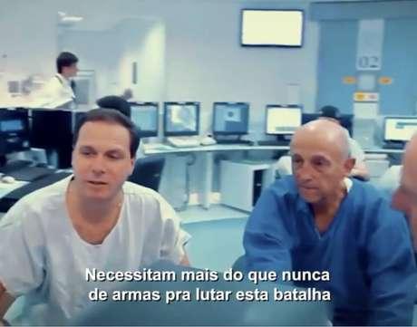 Máscaras de proteção, álcool em gel e aparelhos de raio-X serão adquiridos com o dinheiro da campanha para ajudar os profissionais do Hospital das Clínicas de São Paulo.