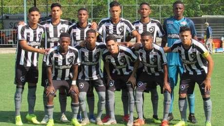 Equipe sub-20 do Botafogo no ano passado (Foto: Fábio de Paula/Botafogo)