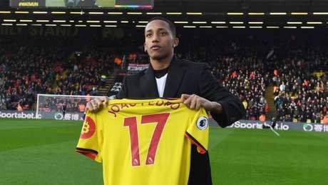 João Pedro disputou apenas dois jogos pelo Watford (Divulgação)