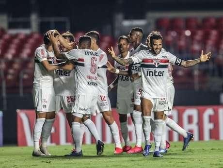 São Paulo tem feito jogos que empolgam o torcedor na temporada 2020 (Foto: Paulo Pinto/saopaulofc.net)
