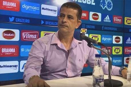 """Carlos Ferreira chegou a afirmar que André Cury era """"persona non grata"""" na Raposa, mas o clube voltou trabalhar com o agente-(Bruno Haddad/Cruzeiro)"""