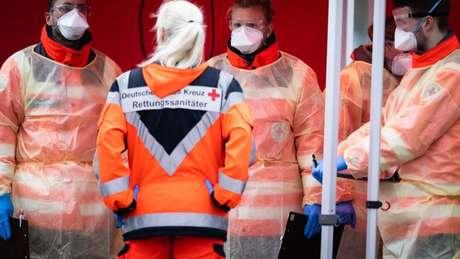 Autoridades alemãs indicaram que são capazes de realizar 160 mil testes de diagnóstico por semana