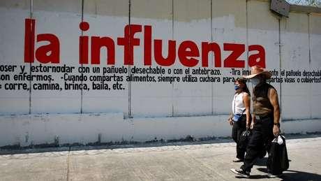 O H1N1 surgiu no México em 2009 e se alastrou pelo mundo