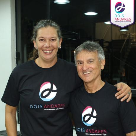 Ana Moser e José Elias de Proença (Foto: Divulgação)