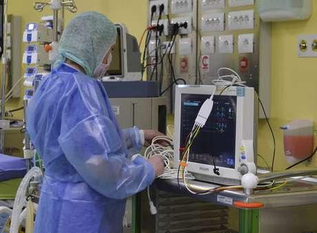 UTI do Hospital San Raffaele, em Milão