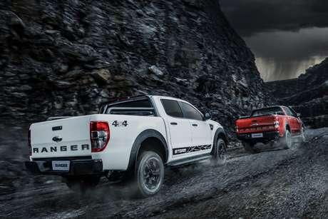 A Ranger Storm está disponível em sete cores: a branca custa R$ 800.