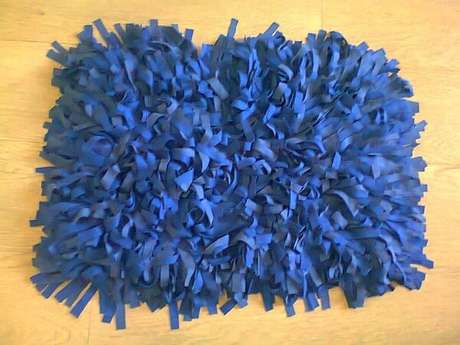 68. Tapete de retalhos em tom azul. Fonte: Pinterest