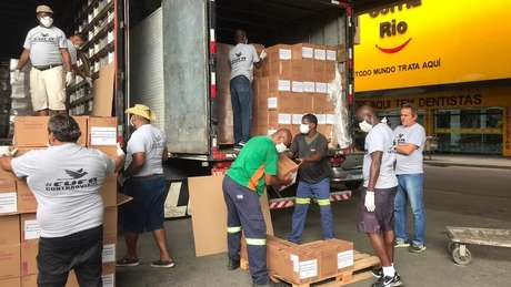 Durante a pandemia, CUFA tem arrecadado toneladas de alimentos e produtos de limpeza para distribuir nas favelas