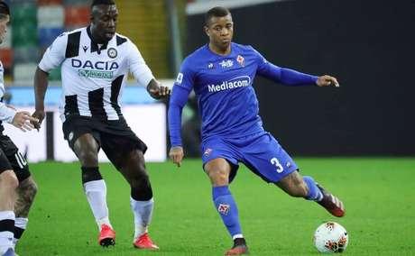 Igor Júlio está na Fiorentina desde o início do ano